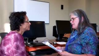 Suwarna's Citizenship Interview at the Milpitas Library