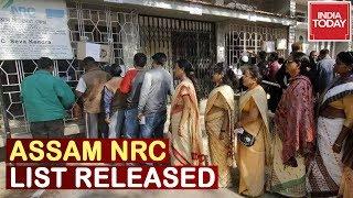 Govt Releases Final List Of NRC In Assam | Breaking News