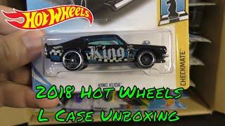 2018 Hot Wheels L Case Unboxing