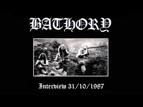 BATHORY interview 1987