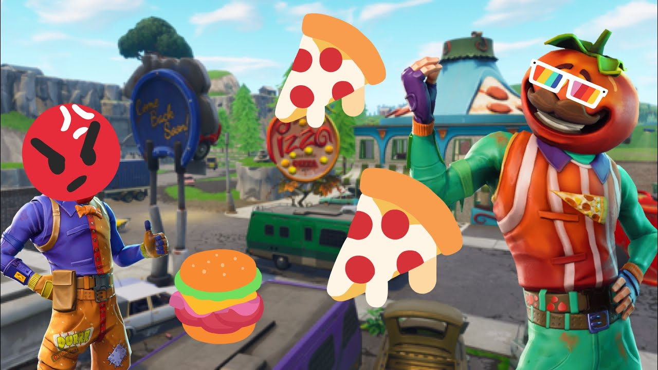 Durr Burger Vs Tomato Head Part 2 The Battle YouTube