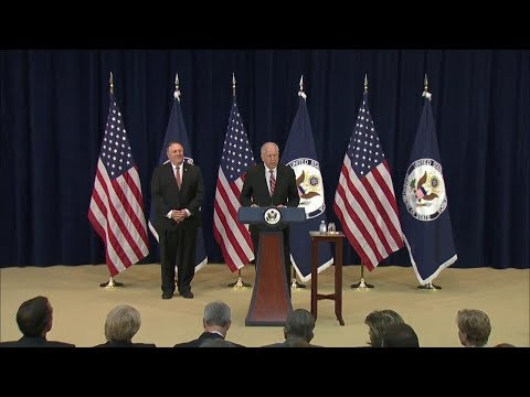 Secretary of State Mike Pompeo At the Department of State's Foreign Affairs Day