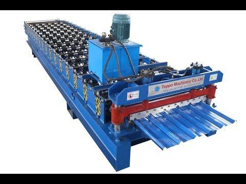 IBR roll forming machine, 1000 Wilson