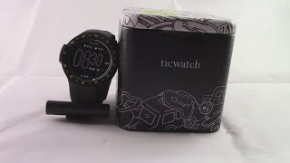 Unboxing and First Impressions of the Ticwatch S