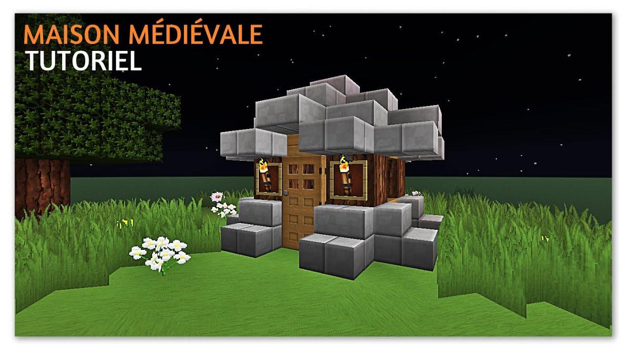 minecraft tuto comment faire une maison m di vale youtube. Black Bedroom Furniture Sets. Home Design Ideas