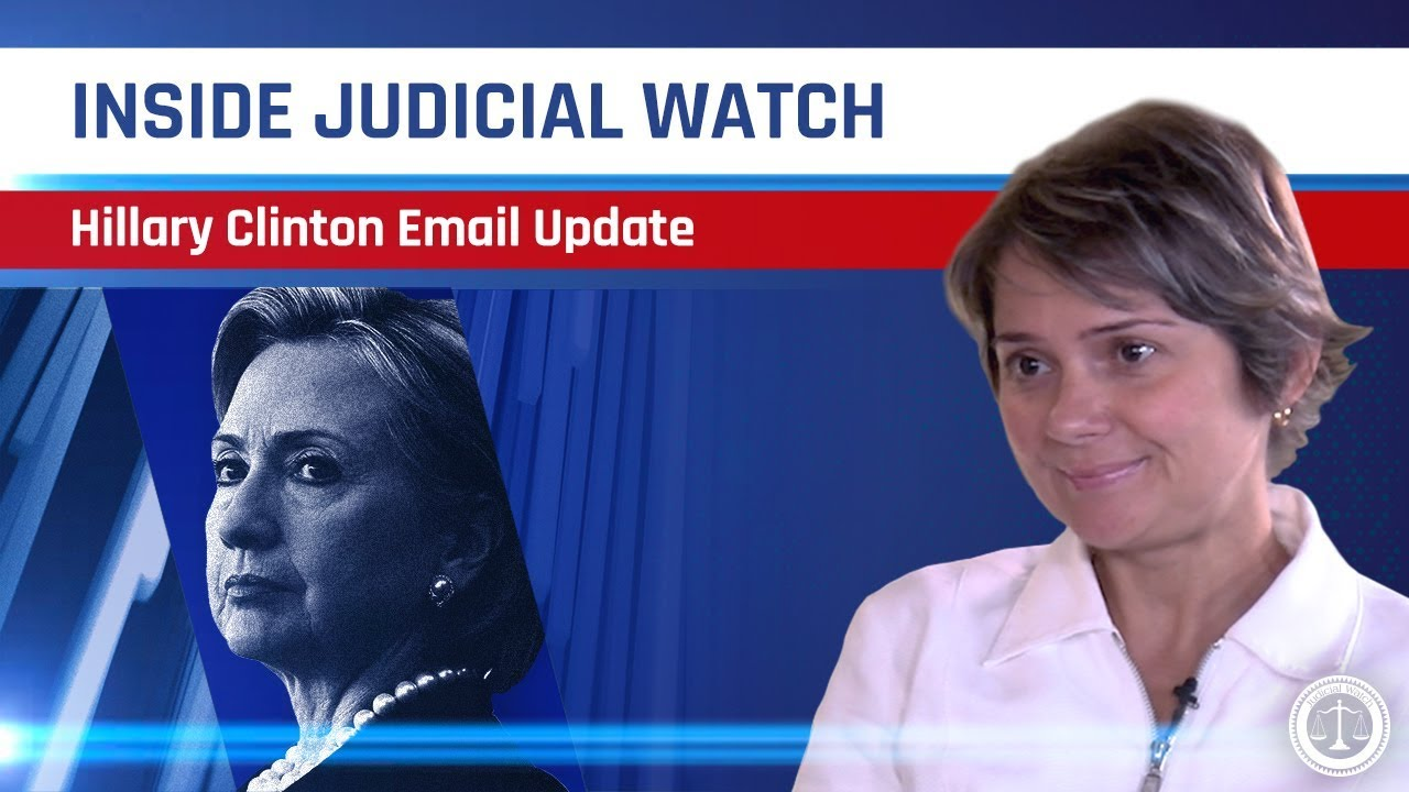 Judicial Watch NEW Docs Show State Dept  KNEW about Hillary Clinton's Secret Email Account