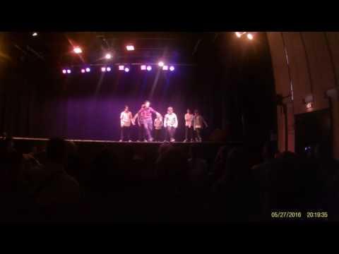 Spectacle de fin d'année - Breakdance Escale - Groupe Intermédiaires 1
