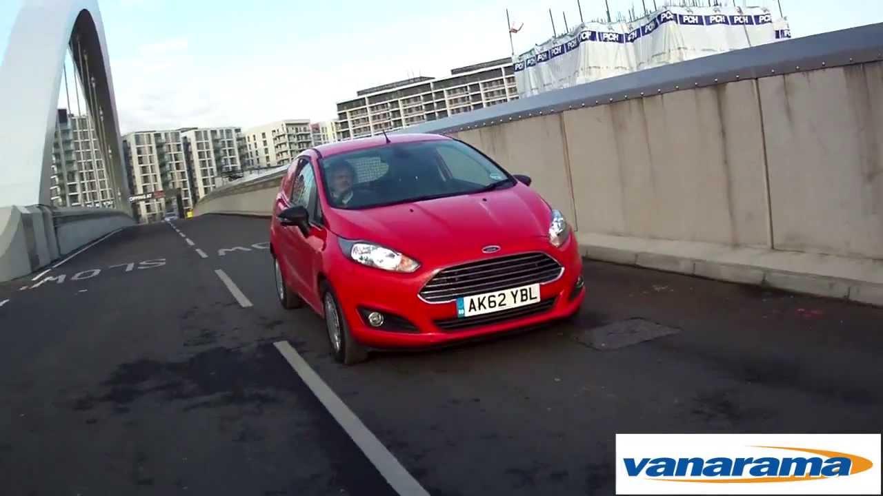 Ford Fiesta Van Review (All New Ford Fiesta 2013)