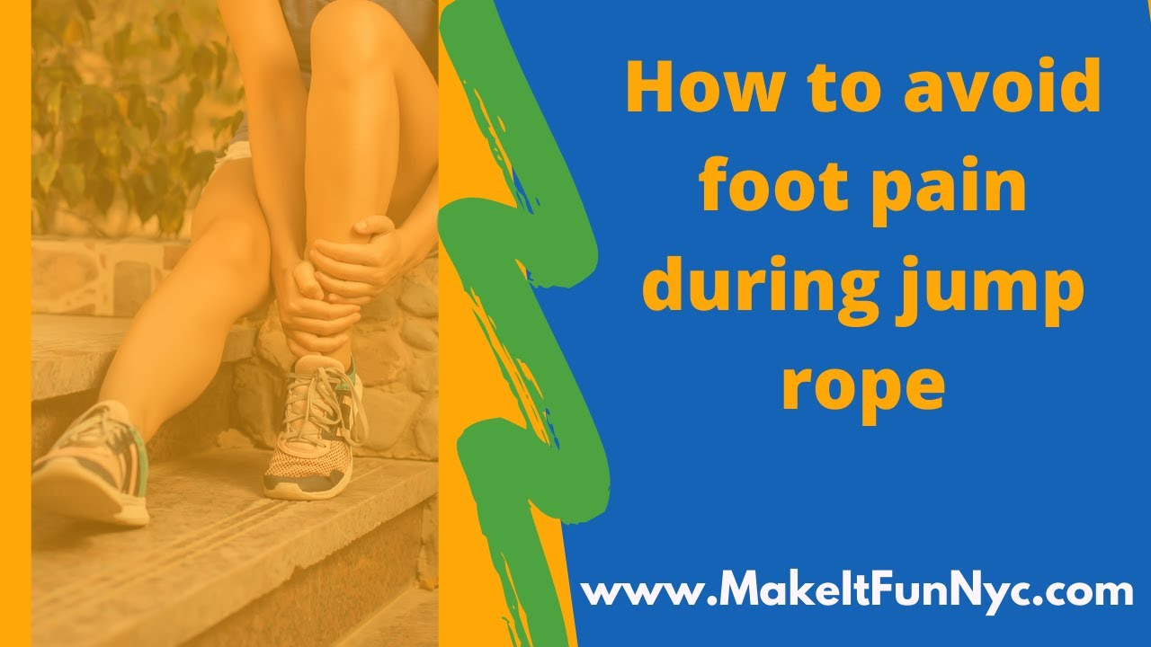 How to avoid foot pain during jump rope