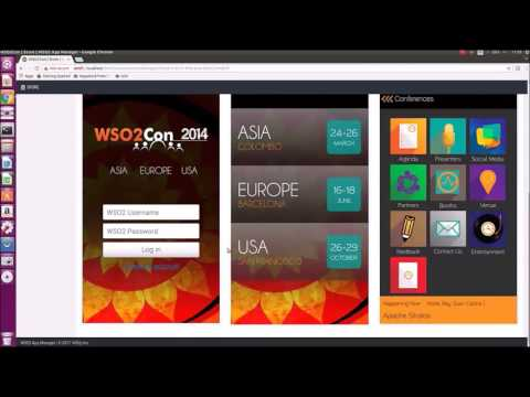WSO2 IoT Server: Mobile Application Management Features