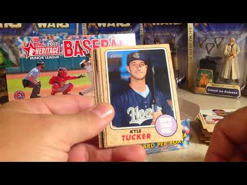 Opening Hobby Box #3 of 2017 Topps Heritage Minor League Baseball Cards