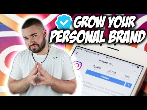 GROW Your Personal Brand FAST - Top Personal Brand Strategy For Instagram