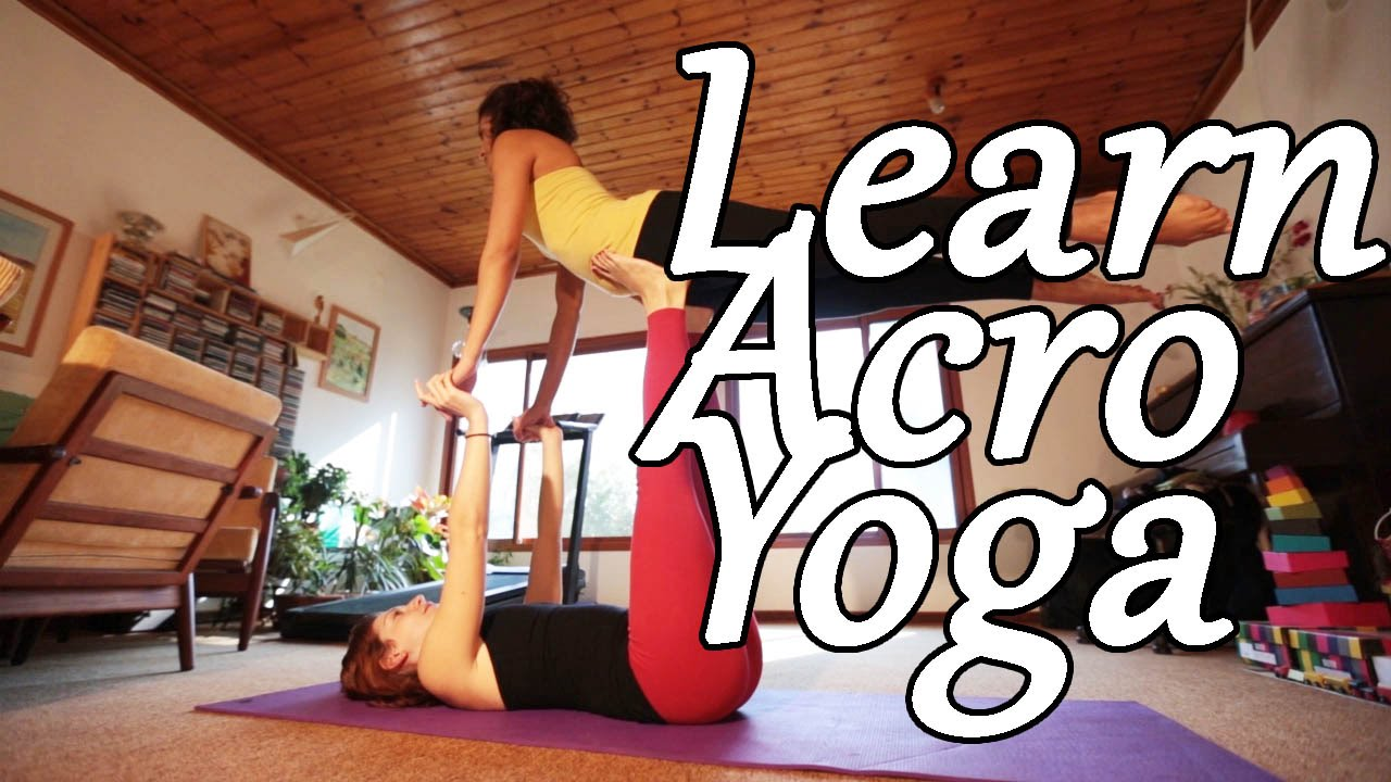 AcroYoga Beginner Tutorial - Front Bird