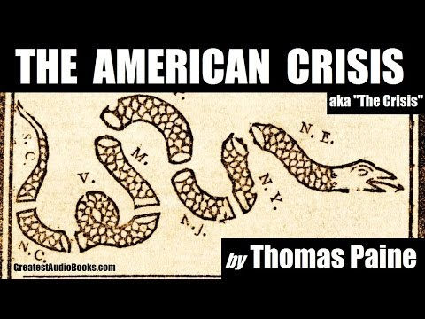 Audio thomas paine the crisis essay
