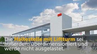 Bauverhandlung in Lustenau rund um Haltestelle Lustenau-West