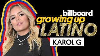 Karol G Discusses Learning English & Recalls Memorable Childhood Traditions | Growing Up Latino