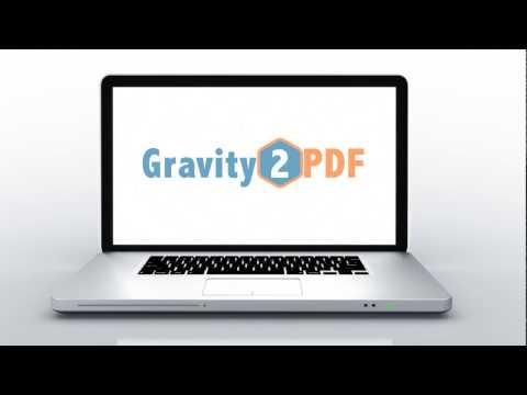Gravity 2 PDF - Plugin Tutorial - Full Length