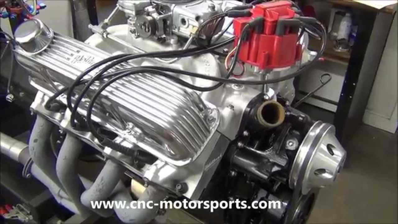 Ford 352 FE 445 Stroker Engine Built by CNC-Motorsports