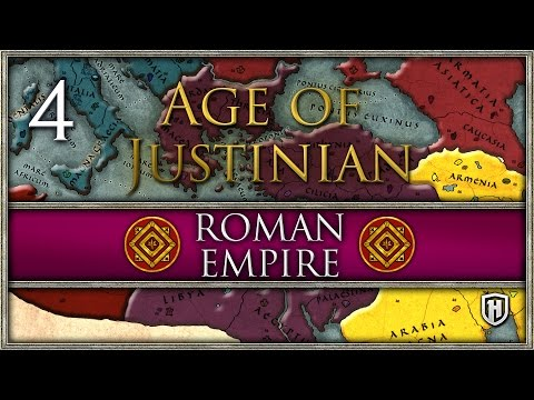 "Enemies on all sides! | Roman ""Byzantine: Empire #4 - Age of Justinian (2.0)"