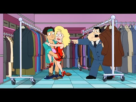 American Dad - Stan Caught Francine Making Out With Young Man