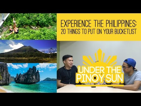 Experience the Philippines: 20 things to put on your Bucketlist