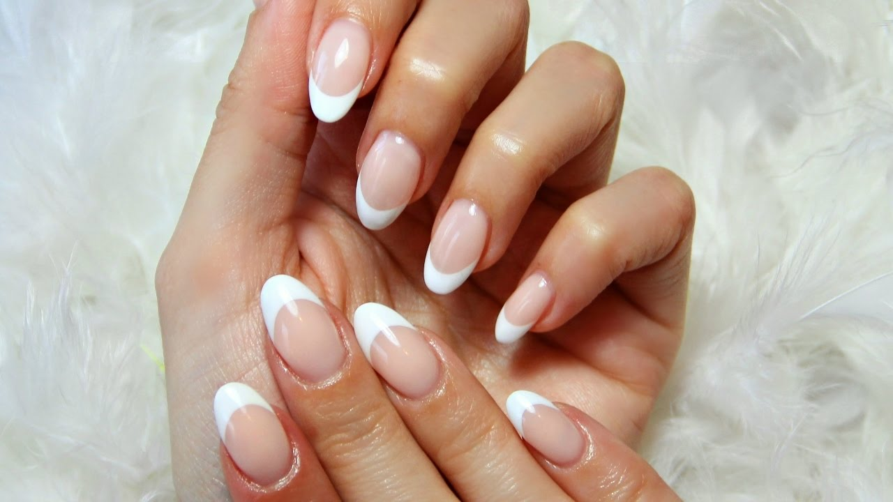 Reverse French Gel Nails with Sculpting EzFlow - gel it!