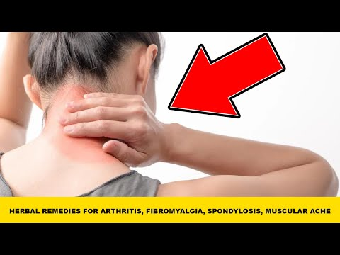 ✅how-to-get-rid-of-arthritis-||-herbal-remedies-for-arthritis-fibromyalgia-spondylosis-muscular-ache