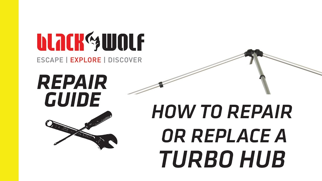 How to replace or repair a Hub on a Turbo Tent  sc 1 st  YouTube & How to replace or repair a Hub on a Turbo Tent - YouTube