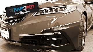 Самоклеющаяся пленка - рестайлинг Acura tlx 2016 (автосалон)