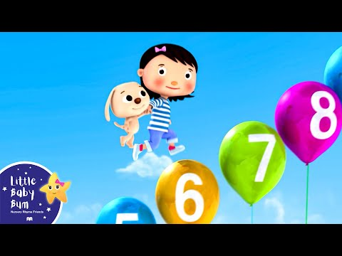 Numbers Sg 110  Part 2  Nursery Rhymes  Original Sg  LittleBaBum!