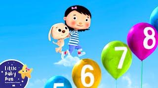 Numbers Song 1-10   Part 2   Nursery Rhymes   Original Song by LittleBabyBum!