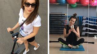 Мой обычный день | LPG массаж, спорт, макияж, самокат