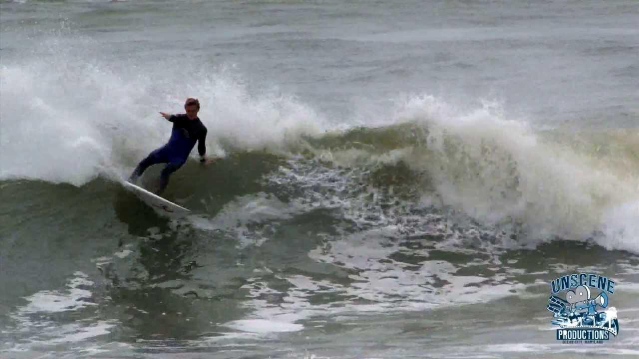 Inlet Surf Ocean City Maryland April 2013