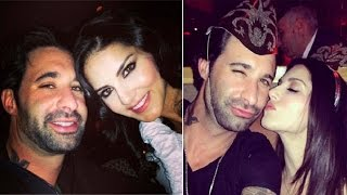Sunny Leone spotted on a late night date with husband Daniel Weber