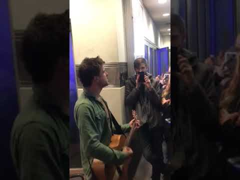 After show Anthony Green acoustic set  Vera Lynn(New Song)