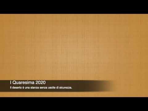 I QUARESIMA 2020