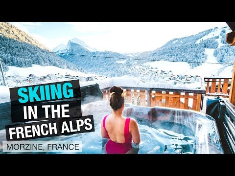 Skiing In The French Alps (for Beginners)