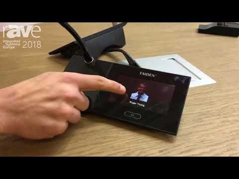 ISE 2018: Media Vision Features Wired Microphone with TouchPad for Conference Room Solutions