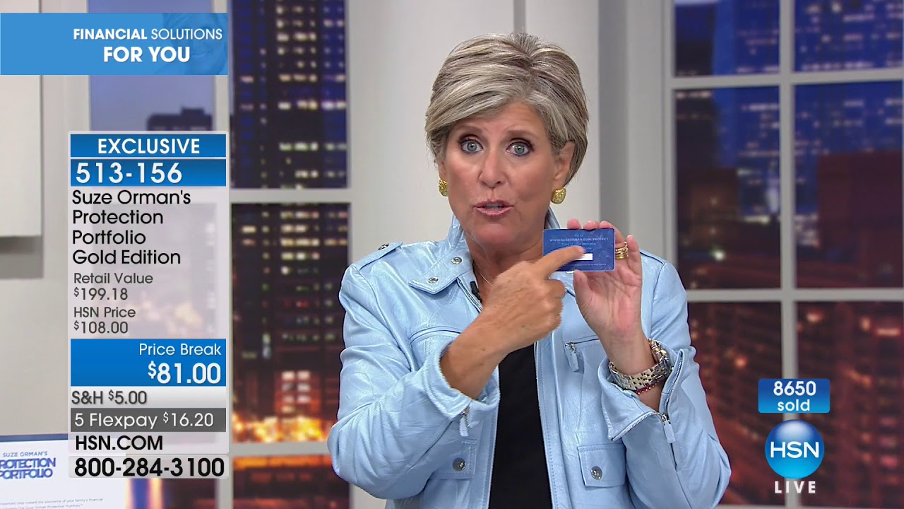 Hsn suze orman financial solutions for you 01072018 08 pm hsn suze orman financial solutions for you 01072018 08 pm solutioingenieria Choice Image