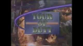 Tour Of Duty 1987 CBS Promo