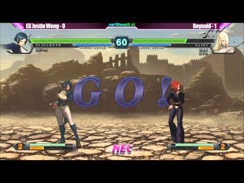 KOF XIII Winners Finals EG Justin Wong vs Reynald - NEC XII Tournament - $1000 Bonus by Atlus |