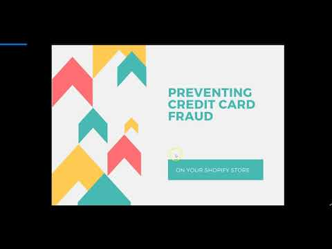 How to Eliminate Credit Card Fraud & Chargebacks on your Shopify or e-Commerce Store