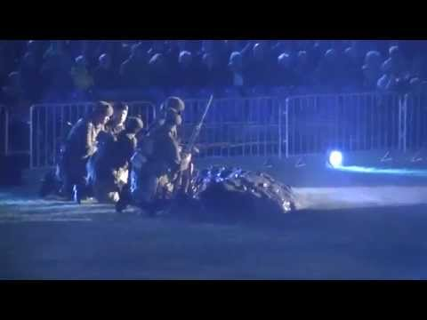 Highland Military Tattoo 2015 - Reconstitution of the WW1 battle of LOOS, North of France