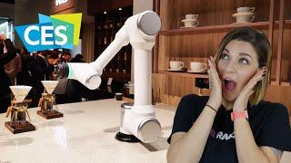 Porte smart per corrieri e mega bracci robot da cucina | LG CES 2020