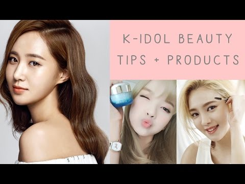 ♡ Korean Idol Beauty Tips + Products ♡
