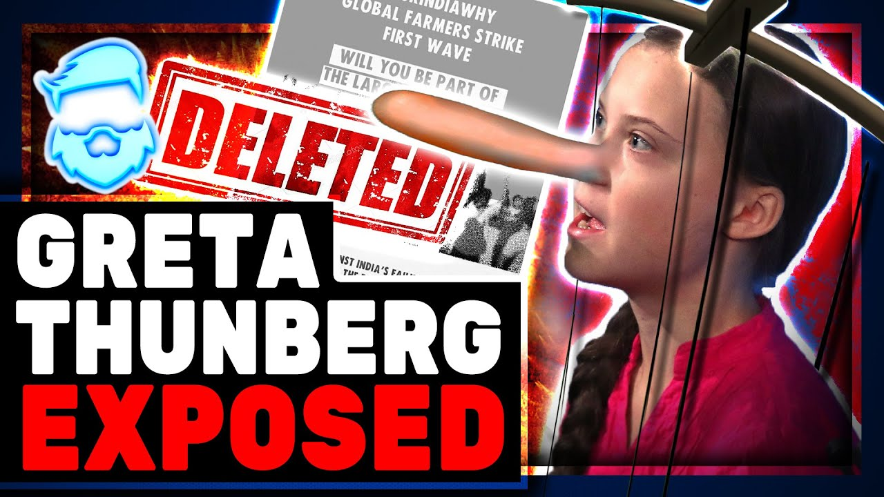 Download Greta Thunberg Accidently LEAKS Proof Her & Rihanna Are FAKE Activists & Indian Farm Protests!