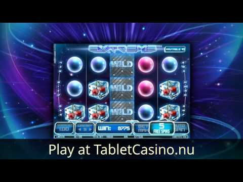 Extreme Video Slot - Online Casino Games On Tablet