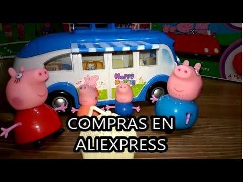 autocaravana de peppa pig compras en aliexpress shopping. Black Bedroom Furniture Sets. Home Design Ideas