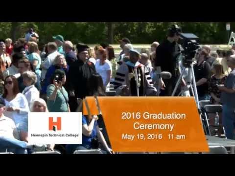 Hennepin Technical College 2016 Gradution 11 am