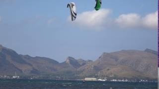 Speed 4 Lotus 21 mts kitesurfen mallorca kitekurs Portblue Club kite spot Mallorca